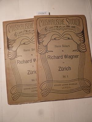 Richard Wagner's Wirken im Interesse Zürichs u. seine geselligen d. familiären ...