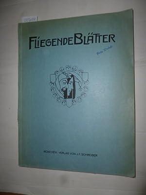 Fliegende Blätter und Meggendorfer Blätter (22 Ausgaben): Ferdinand Schreiber (Hrsg. u. ...