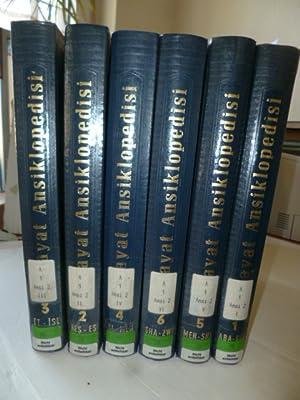 Hayat Ansiklopedisi - I. bis VI. Cilt (6 Bücher kompett): Diverse
