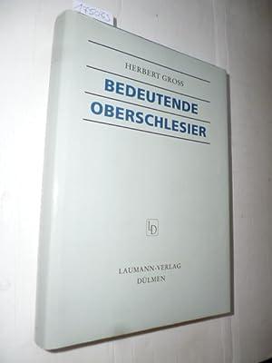 Bedeutende Oberschlesier : Kurzbiographien: Gross, Herbert