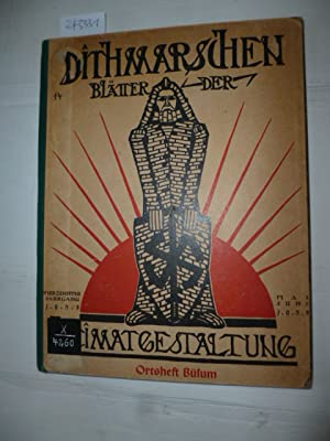 Chronik von BÜSUM (Dithmarschen - Blätter der Heimatgestaltung, 14. Jahrgang - Mai-Juni ...