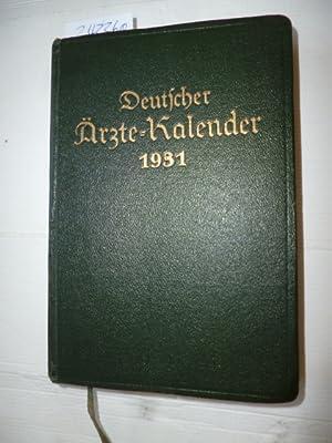 Deutscher Ärztekalender - 5. Jahrgang 1931: Diverse