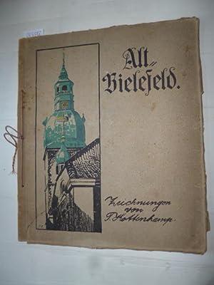 Alt-Bielefeld. Fünfzehn Zeichnungen. Mit einer Einführung von W. Engels.: Kottenkamp, P