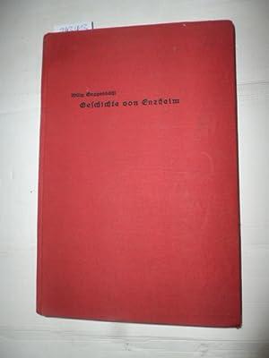 Geschichte von Enzheim (=Schriften der Elsaß-Lothringischen Wissenschaftlichen Gesellschaft, ...