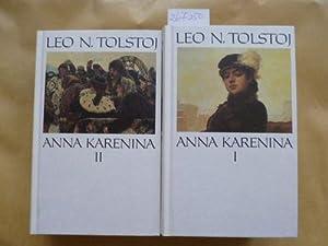 Leo N Tolstoj Anna Karenina I +II: Tolstoj, Lev Nikolaevic,