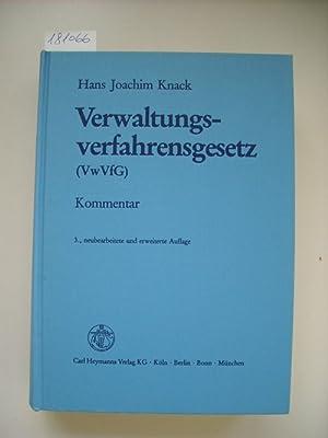 Verwaltungsverfahrensgesetz : (VwVfG) ; Kommentar: Knack, Hans-Joachim [Hrsg.]