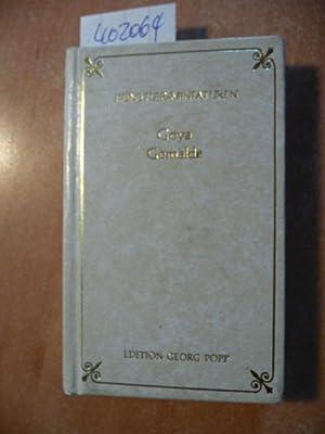 Goya. Gemälde. Künstler-Miniaturen: Ferrari, Enrique Lafuente