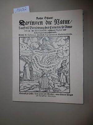 Kurtzer Discurs, darinnen die Natur, Lauff und: Hersbach, Caspar