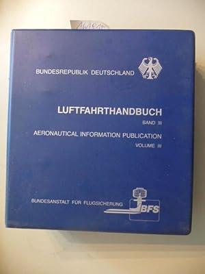 Bundesrepublik Deutschland - Luftfahrthandbuch - Aeronautical Information: Diverse