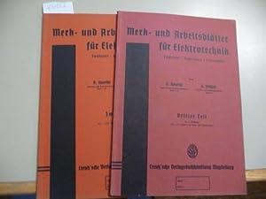 Merk- und Arbeitsblätter für Elektrotechnik : Fachkunde,: Spaethe, Karl ;