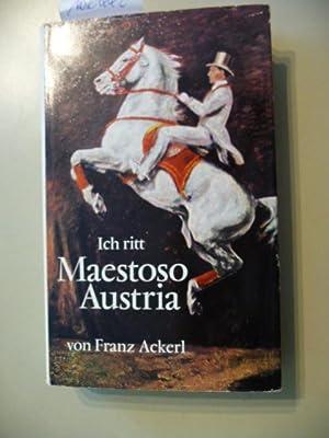 Ich ritt Maestoso Austria: Ackerl, FranzOpfermann, Hans C.