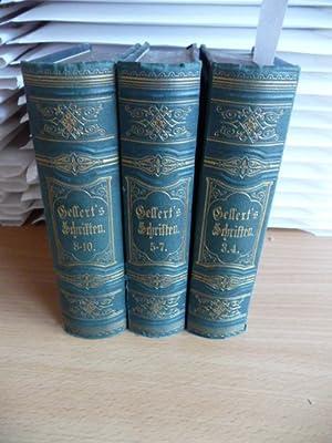 C.F. Gellerts sämmtliche Schriften - Neue rechtmäßige Ausgabe - hier 3 Bände -...