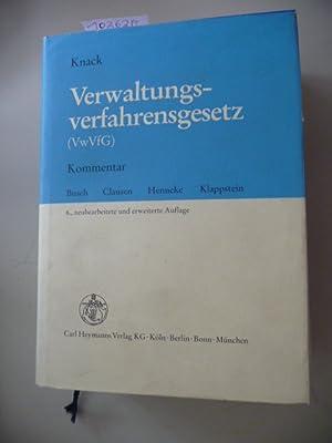 Verwaltungsverfahrensgesetz : (VwVfG) ; Kommentar: Knack, Hans-Joachim [Begr.]