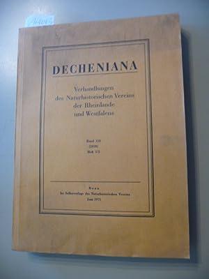 Decheniana. Verhandlungen des Naturhistorischen Vereins der Rheinlande und Westfalens - Band 123 (...