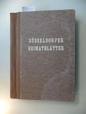 Düsseldorfer Heimatblätter - VI. Jahrgang 1937 - Heft 1 bis 12: Paul Kalkhausen (...