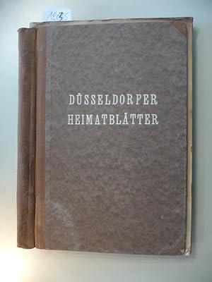 Düsseldorfer Heimatblätter - XI. Jahrgang 1942 - Heft 1 bis 3: Paul Kalkhausen (...