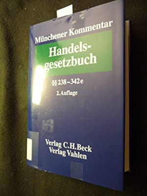 Münchener Kommentar zum Handelsgesetzbuch . - Teil: Bd. 4., Drittes Buch - Handelsbücher ...