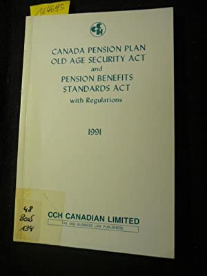 Canada Pension Plan Old Age Security Act: Diverse