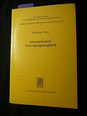 Studien zum ausländischen und internationalen Privatrecht ; 13 Internationaler ...