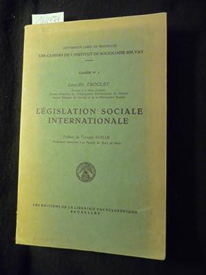 Legislation Sociale Internationale: Troclet, Leon-Eli