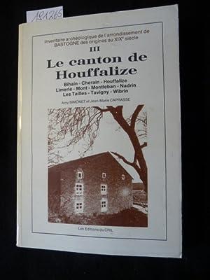 Le canton de Houffalize III - Bihain: Amy SIMONET et