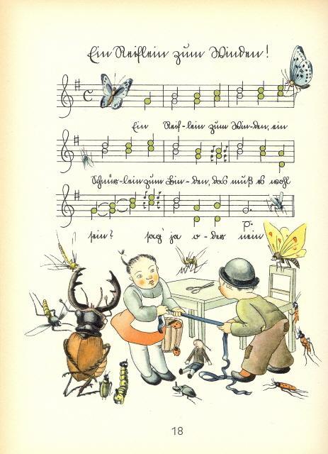 Zehn neue Kinderlieder und Reigen. Mit Bildern: Seifried, Albert.
