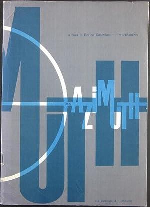 Azimuth 1. A cura di Enrico Castellani