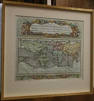 Tabula Geographico-Hydrographica Motus Oceani Currentes, Abyssos, Montes: Zahn, Johann