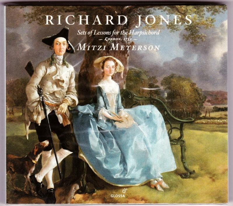 Sets of Lessons for the Harpsichord. 2: Jones, Richard