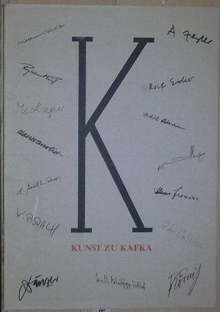 Kunst zu Kafka. Ausstellung zum 50. Todestag.: Nicolin, Günther (Hrsg.),