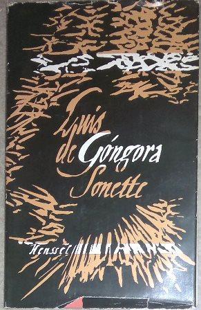 Sonette. Aus dem Spanischen und kommentiert von: Góngora, Luis de,