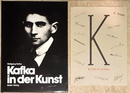 Kafka in der Kunst. / Günther Nicolin,: Kafka, Franz. -