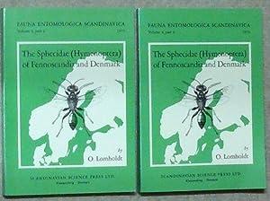 The Sphecidae (Hymenoptera) of Fennoscandia and Denmark.: Entomologie. - Lomholdt,