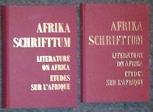 Bibliographie deutschsprachiger wissenschaftlicher Veröffentlichungen über Afrika südlich: Afrika - Schrifttum.