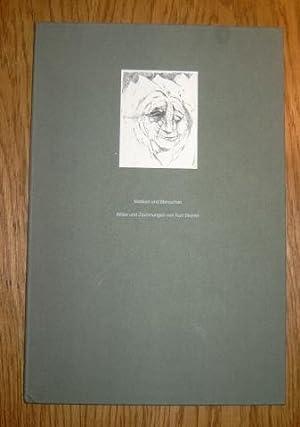 Masken und Menschen. Bilder und Zeichnungen. Text: Steinel, Kurt,