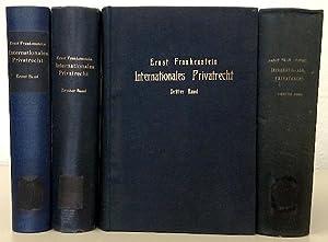 Internationales Privatrecht (Grenzrecht). 4 Bände.: FRANKENSTEIN, Ernst.