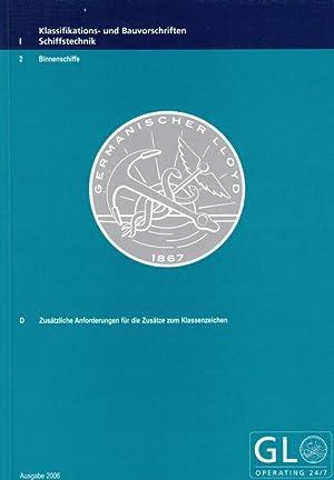 Klassifikations- und Bauvorschriften - Schiffstechnik - Binnenschiffe