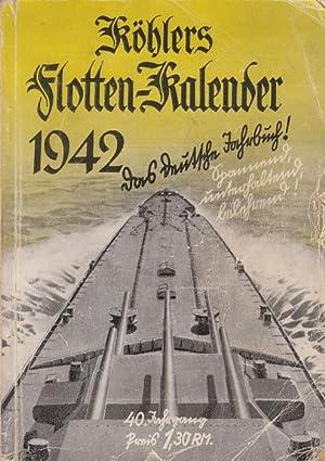 Köhlers Flotten-Kalender 1942 - Das deutsche Jahrbuch