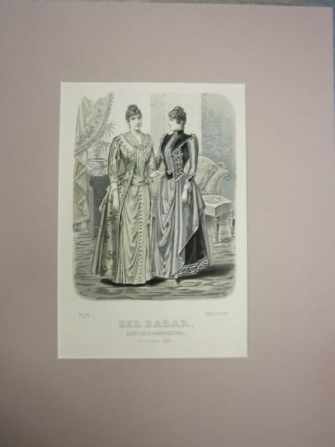 Der Bazar. Illustrirte Damen-Zeitung. November 1889. Modeblatt