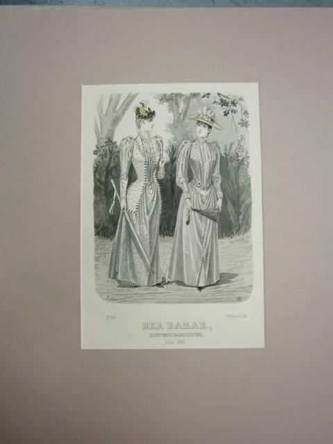 Der Bazar. Illustrirte Damen-Zeitung. Juli 1891. Modeblatt
