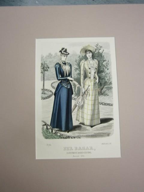 Der Bazar. Illustrirte Damen-Zeitung. August 1891. Modeblatt
