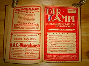 Der Kampf. Jahrgang XVIII (18), 1925. Sozialdemokratische Monatsschrift. Jahrgang XVIII, 1925 (ohne...
