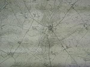 Hohen-Sprenz - Laage - Kritzkow - Diekhof - Warnkenhagen. 4 topographische Karten im Maßstab ...