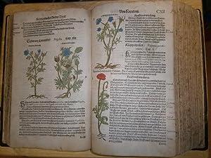 Kreuterbuch, Künstliche Conterfeytunge der Bäume, Stauden, Hecken,: Lonicer (Lonitzer, Lonicerus),
