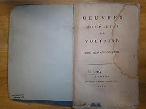 Oeuvres completes. Tome quarante-cinquieme (Band 15). L'homme: Voltaire, (Francois Marie