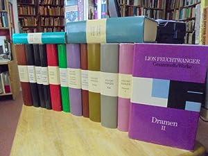 Gesammelte Werke in Einzelausgaben. 14 Bände. Band: Feuchtwanger, Lion,