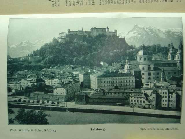 Bruckmann's illustrierte Reiseführer: Reichenhall, Berchtesgaden, Salzburg. =: Bruckmann.