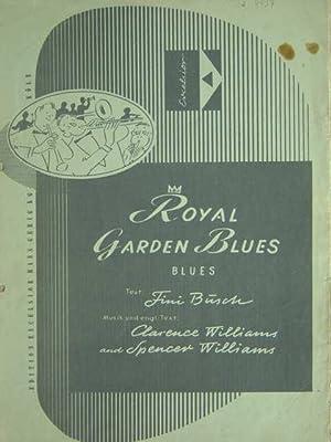 Royal Garden Blues. Ausgabe für Klavier mit: Williams, Clarence and