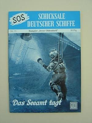 "Nr. 71 / Otto Mielke: Frachtdampfer ""Irene: SOS - Schicksale"