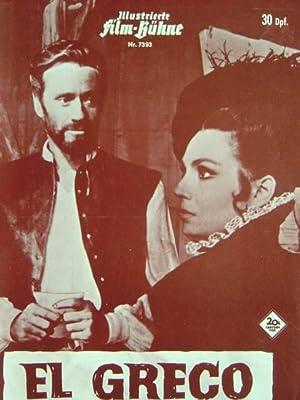 Filmprogramm Nr. 7393: El Greco. Regie: Luciano: Illustrierte Film-Bühne.